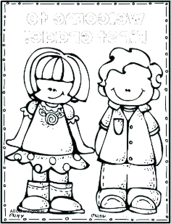 680x890 School Objects Coloring Pages Print Back To Page Books For Schoo