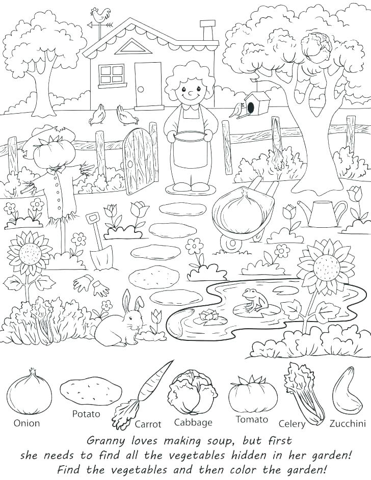 graphic regarding Find the Hidden Objects Printable known as Goods Coloring Webpages at  Free of charge for