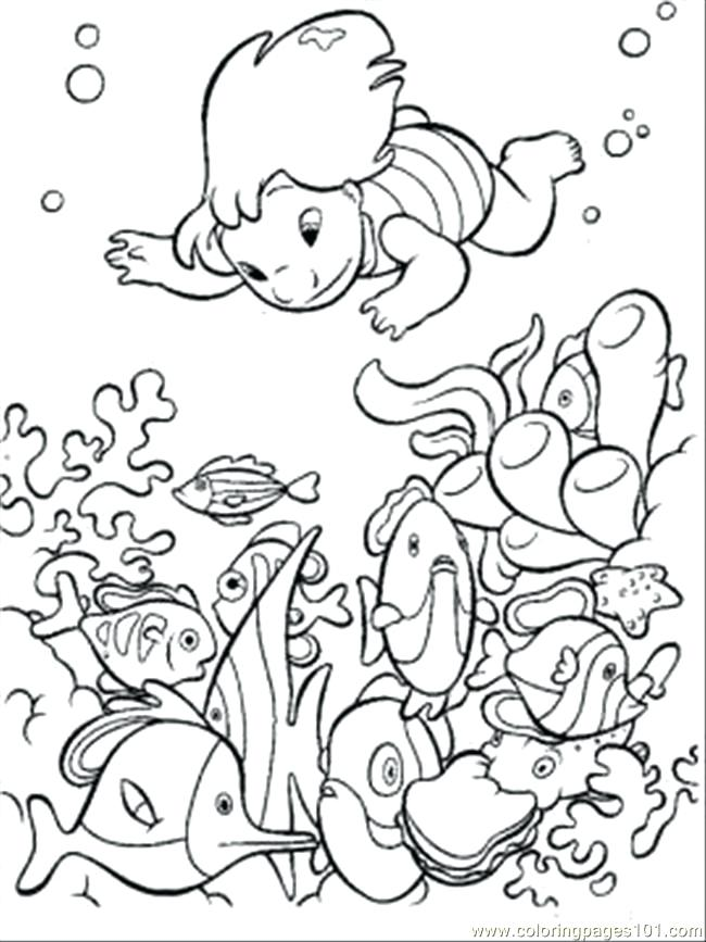 650x867 Coloring Pages Printable For Kids Excellent Ocean Coloring Pages