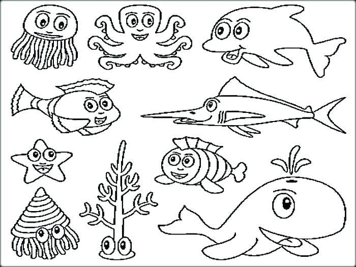 Ocean Coloring Pages For Kids Printable At Getdrawings Com Free