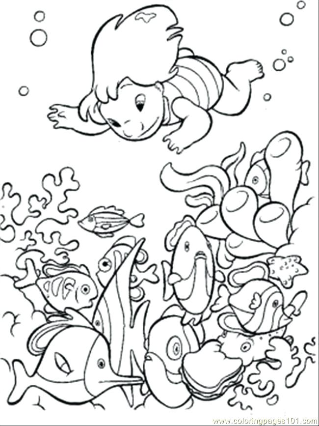 650x867 Kids Color Page Free Printable Ocean Coloring Pages For Kids