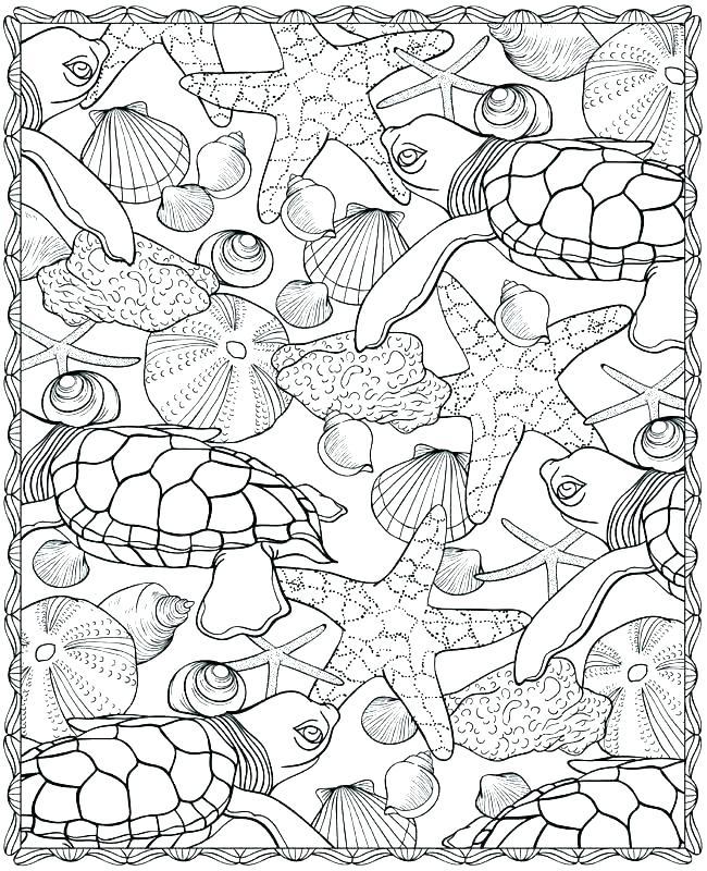 650x800 Ocean Scene Coloring Page Oceans Coloring Pages Ocean Scene