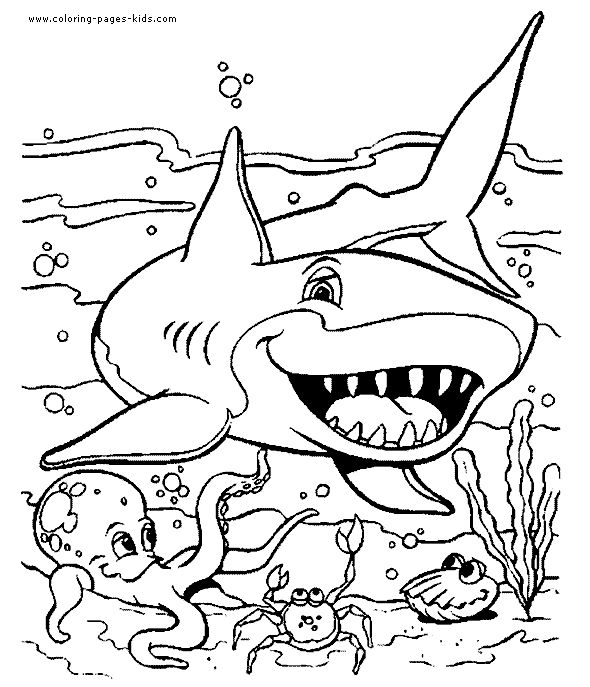 590x687 Ocean Coloring Sheets Best Ocean Coloring Pages Ideas