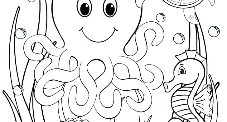 728x393 Ocean Coloring Page Ocean Coloring Pages Printable Ocean Coloring