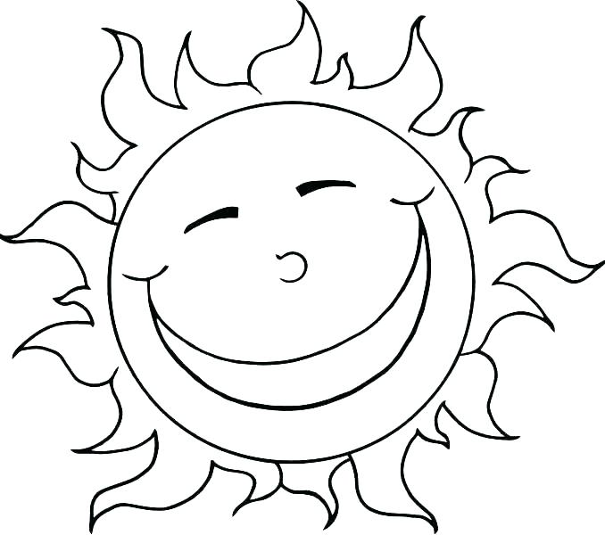 678x600 Sun Coloring Pages Coloring Page Sun Sun Coloring Pages Sun Clip