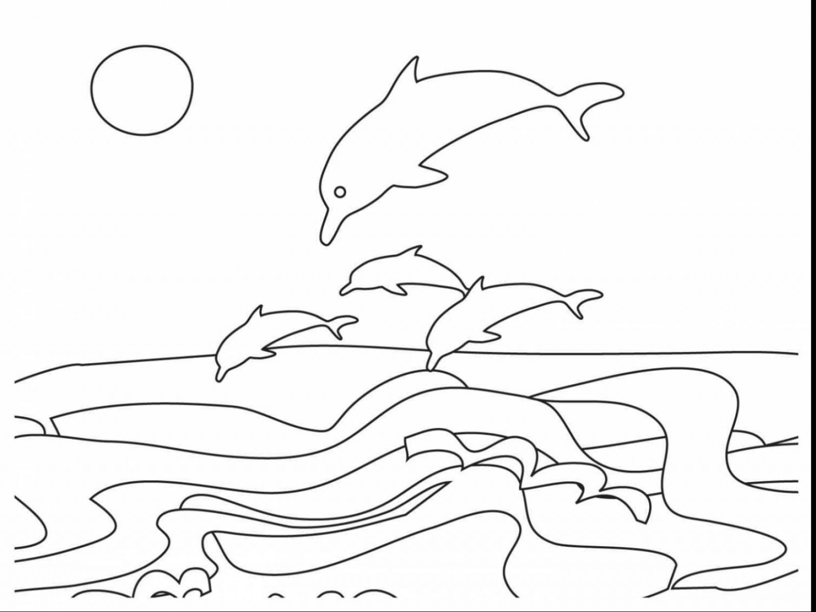 Ocean Sunset Coloring Pages at GetDrawings   Free download