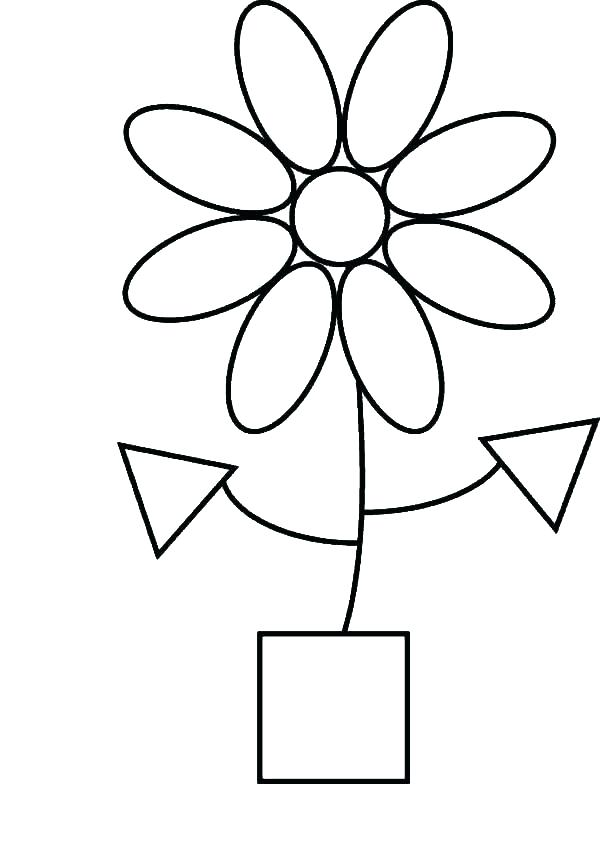 600x868 Geometric Shapes Coloring Pages Geometric Shapes Coloring Page