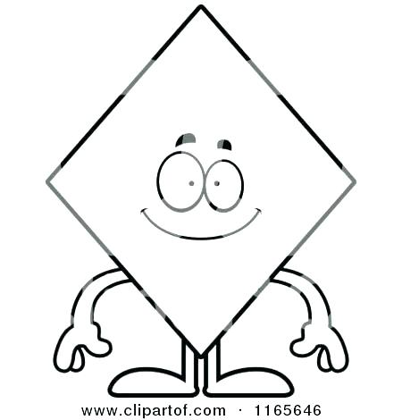 450x470 Shape Coloring Page Diamond Coloring Page Packed With Diamond
