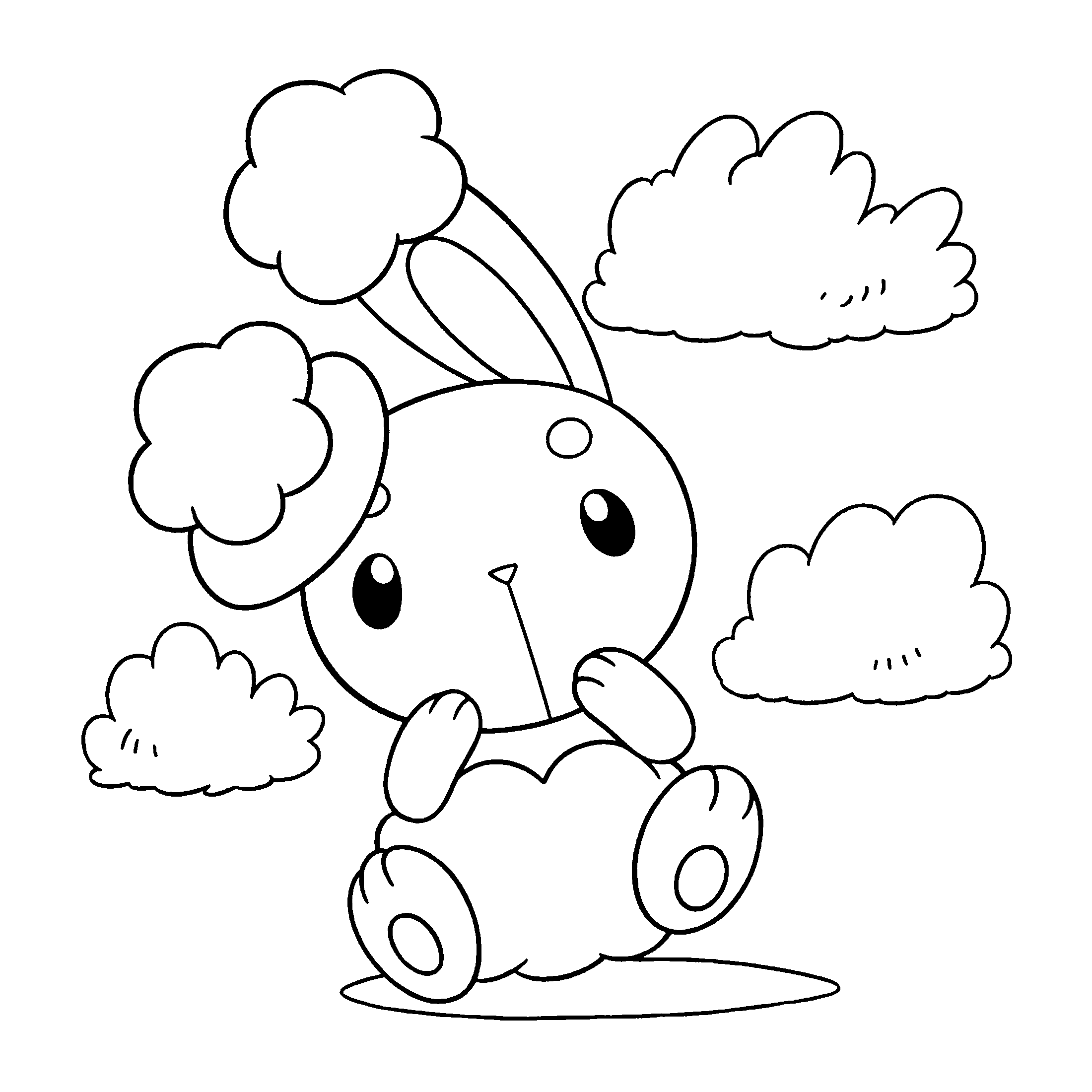 2200x2200 Coloring Page Tv Series Coloring Page Pokemon Diamond Pearl