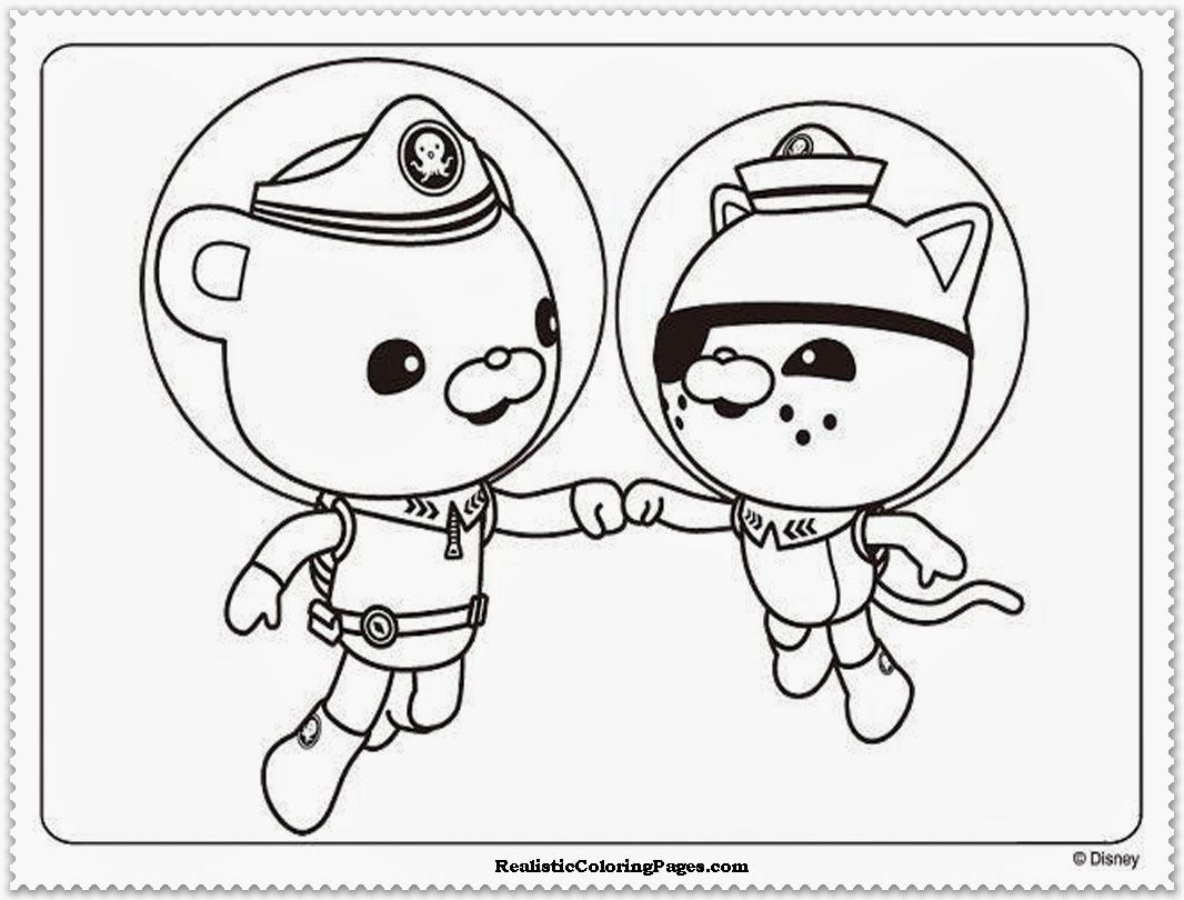 Octonauts Dashi Coloring Pages at GetDrawings.com | Free for ...