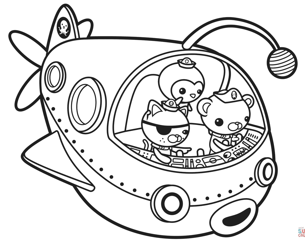 1224x976 fresh excellent octonauts coloring pages dashi contemporary