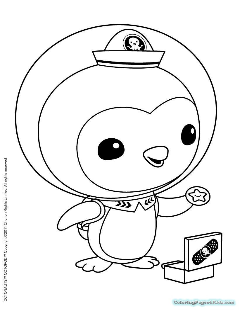 Octonauts Gups Coloring Pages at GetDrawings   Free download