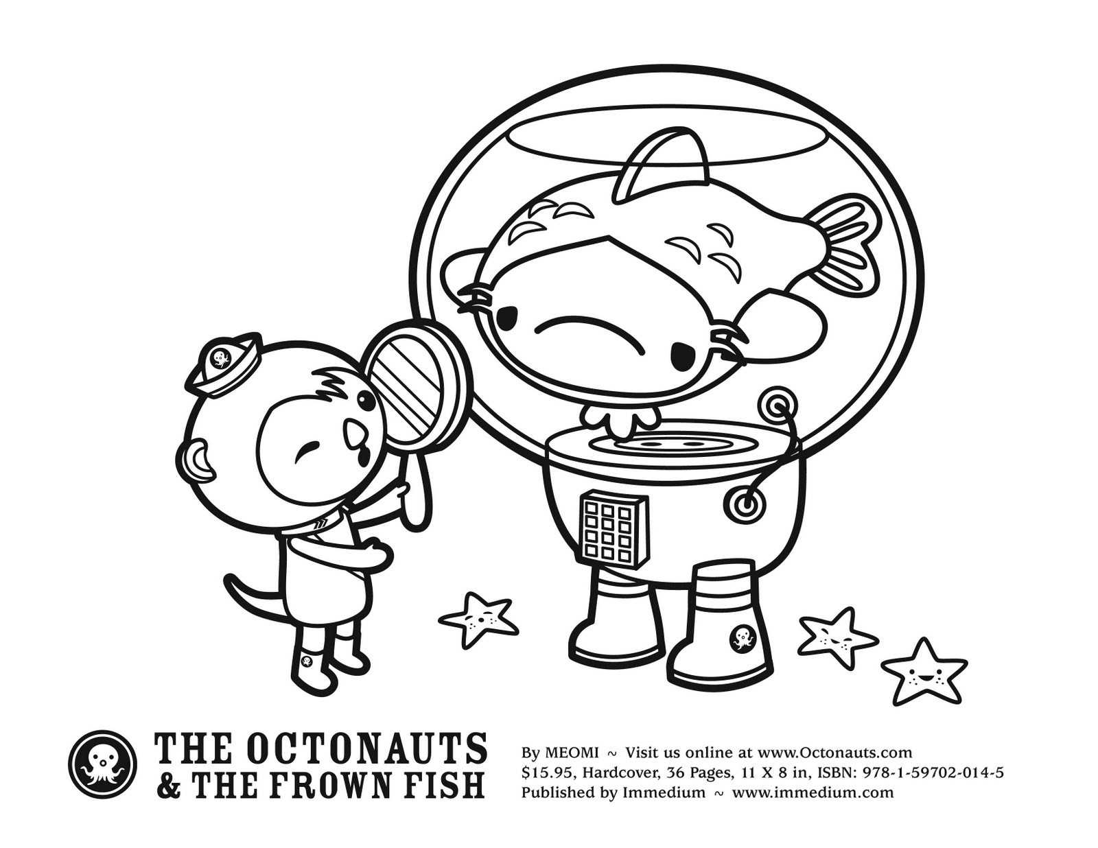 Octonauts Gups Coloring Pages at GetDrawings | Free download