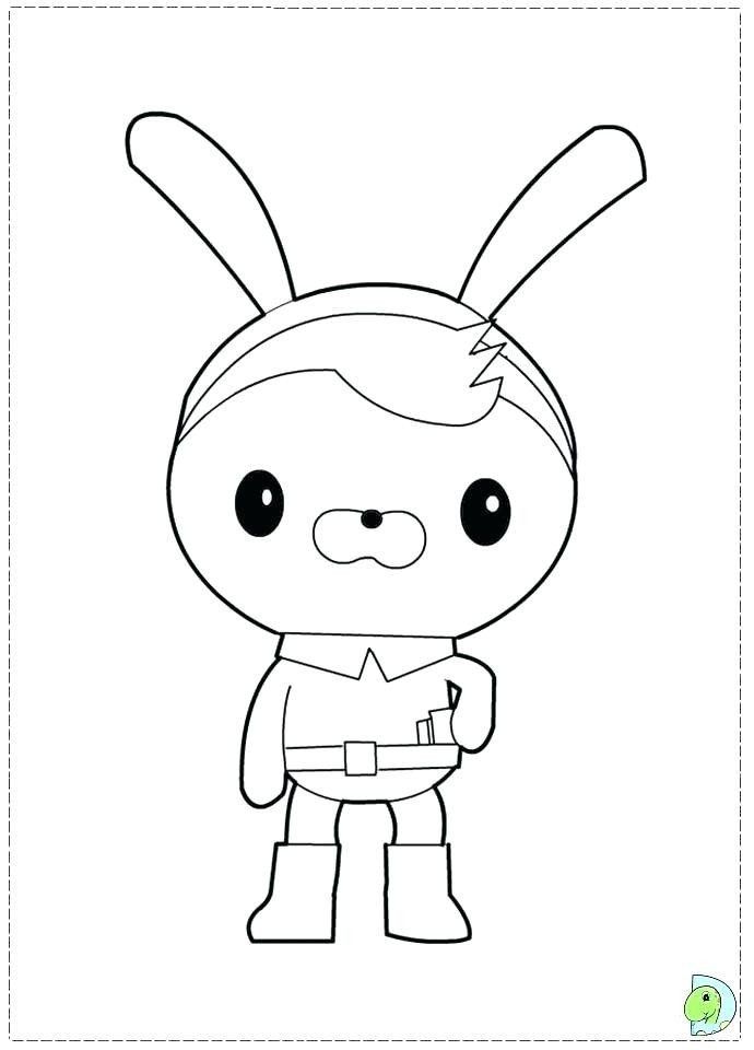 Octonauts Octopod Coloring Pages At Getdrawings Com Free For
