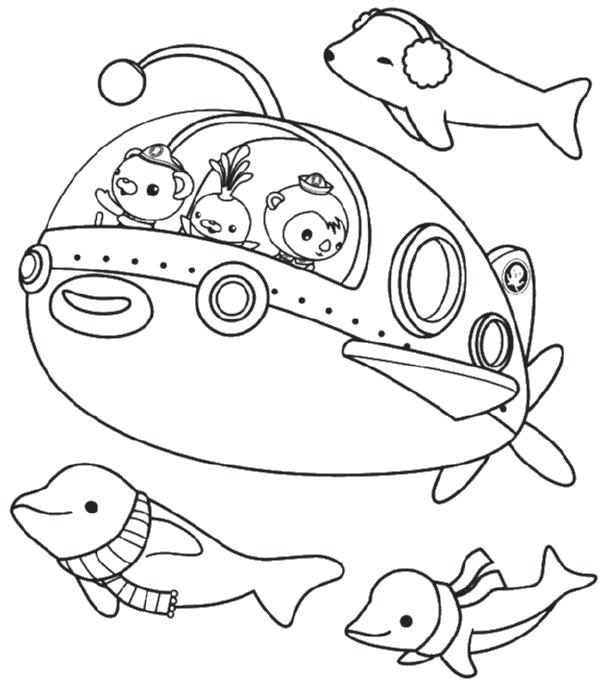 Octonauts Octopod Coloring Pages at GetDrawings.com | Free for ...