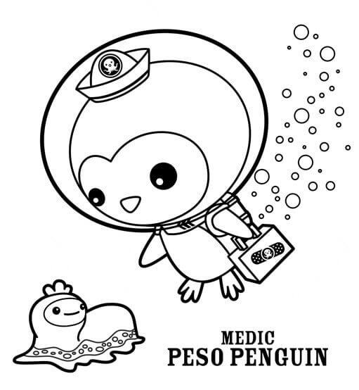 511x554 Free Printable Octonauts Coloring Pages