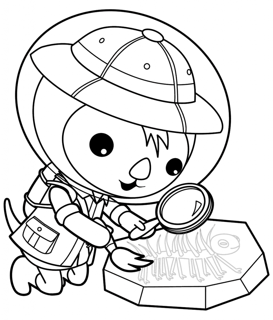 874x1024 Free Printable Octonauts Coloring Pages