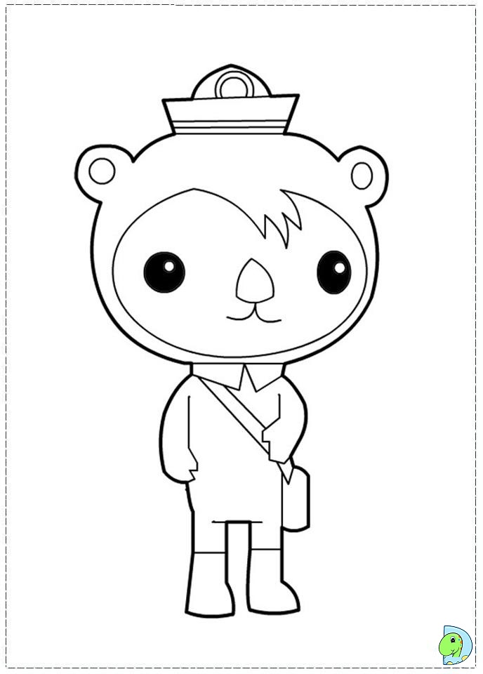 688x960 Octonauts Coloring Pages