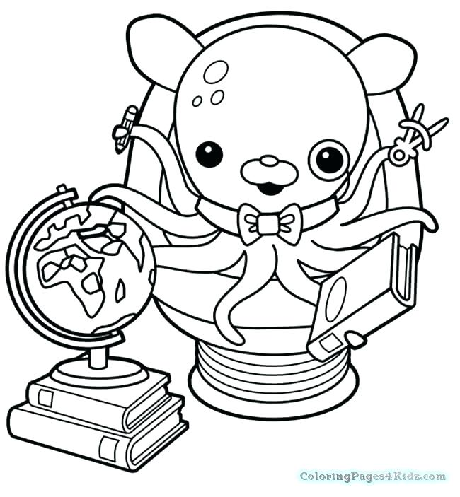 650x703 Octonauts Coloring Pages Cheap Coloring Pages Print For Kids Peso