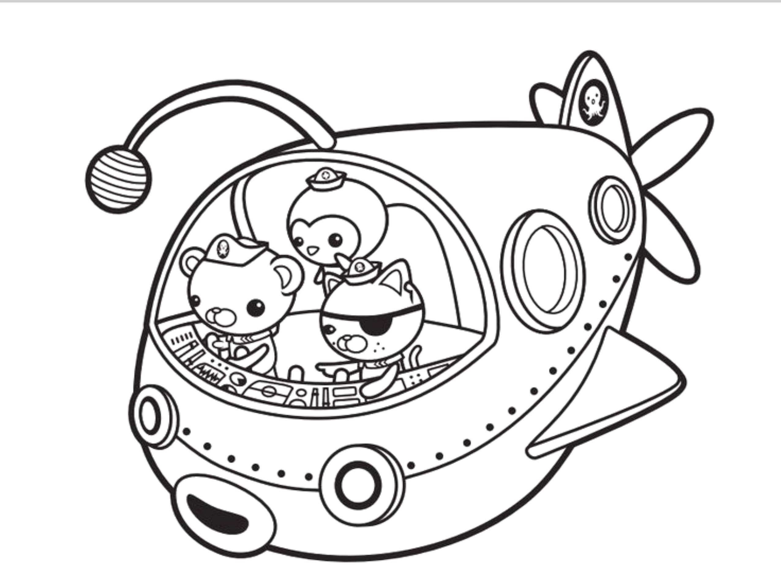 2551x1861 Octonauts Coloring Pages Luxury Octonauts Coloring Pages