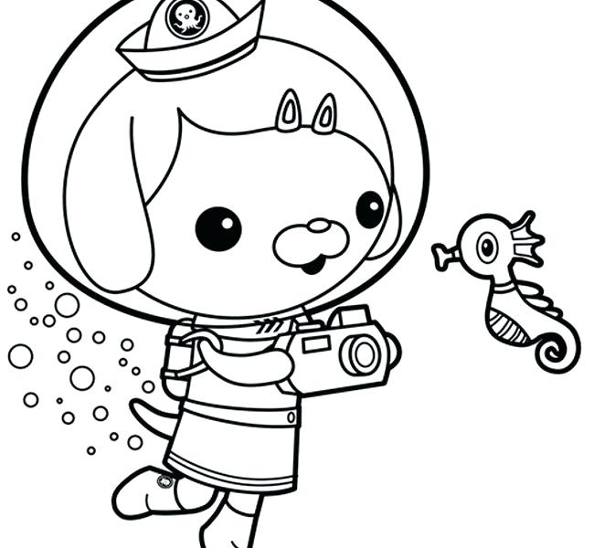 650x600 Octonauts Coloring Pages Printable Coloring Pages Octonauts