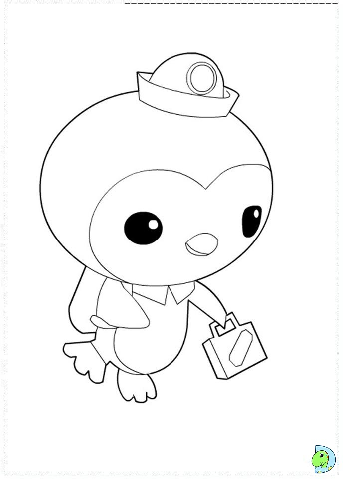 688x962 Octonauts Coloring Page