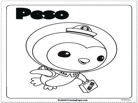 440x330 The Coloring Pages Octonauts Colouring Gup X Murs