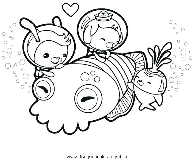 640x524 Printable Octonauts Coloring Pages