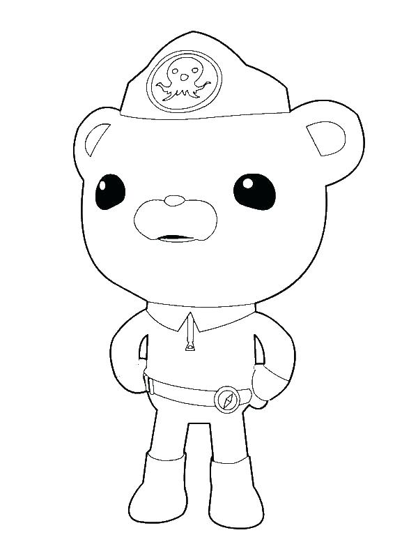 600x800 Coloring Pages Octonauts From The Exploring The Sea Coloring Page