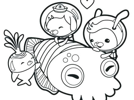 440x330 Coloring Pages Octonauts S Tweak