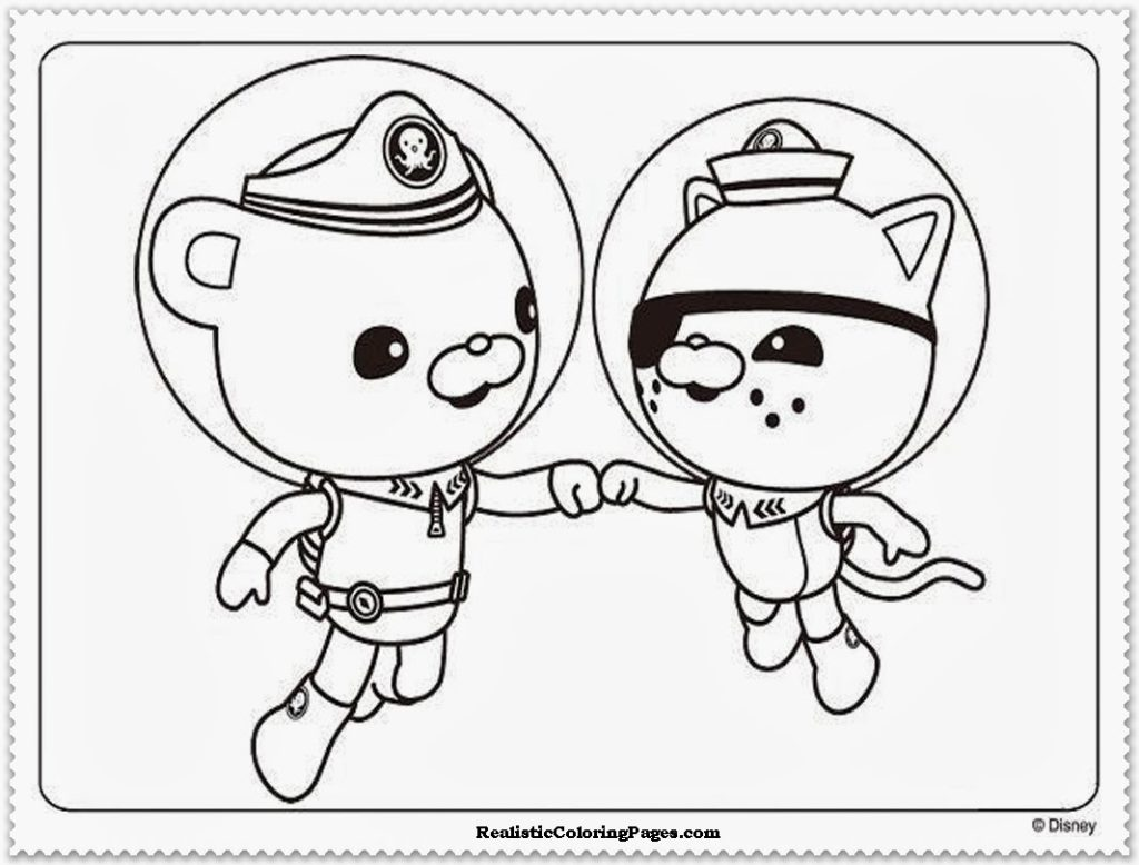 1024x778 Octonaut Coloring Page Octonauts Pages To Print