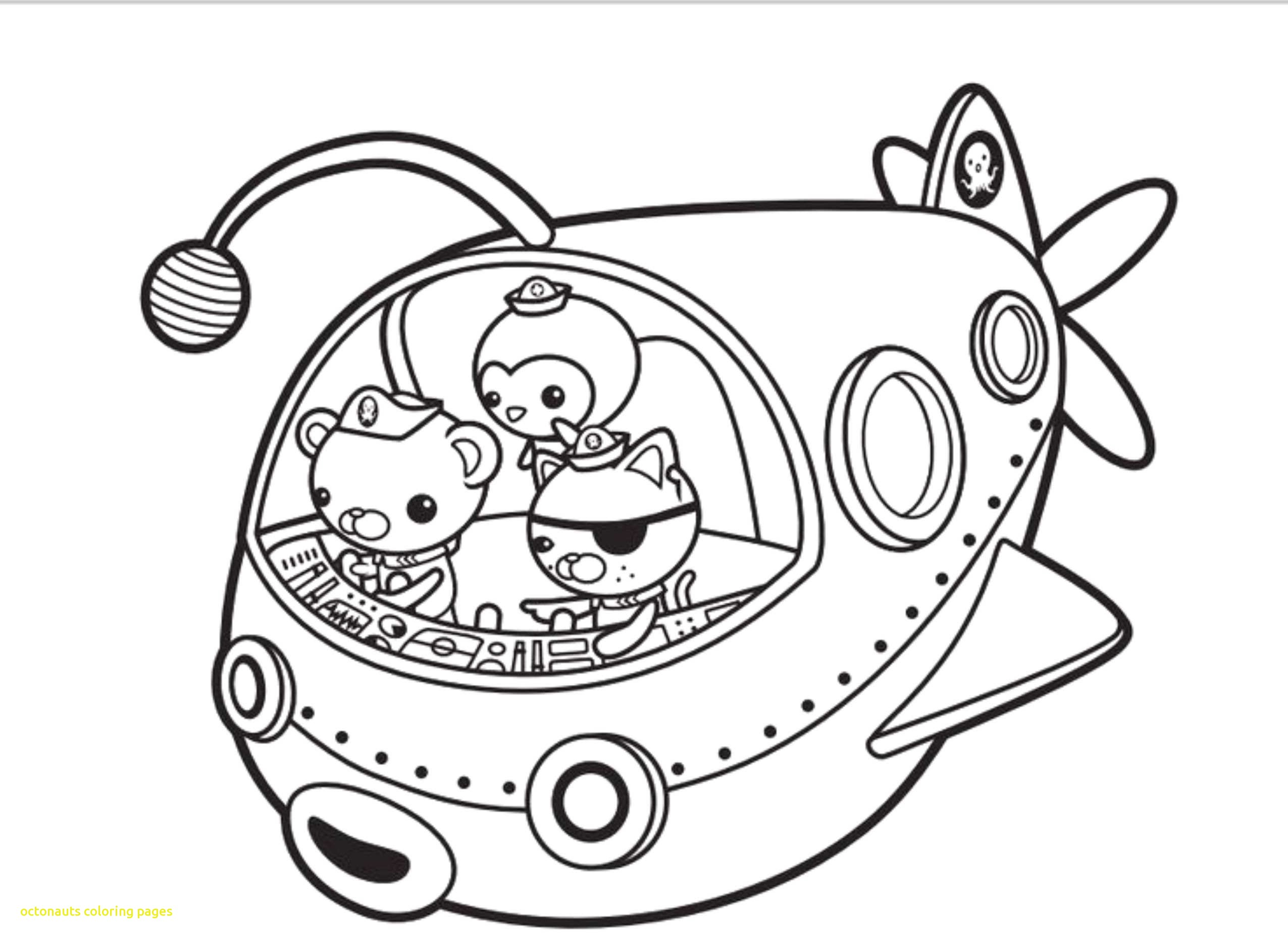2551x1861 Octonauts Coloring Pages With Octonauts Printable Coloring