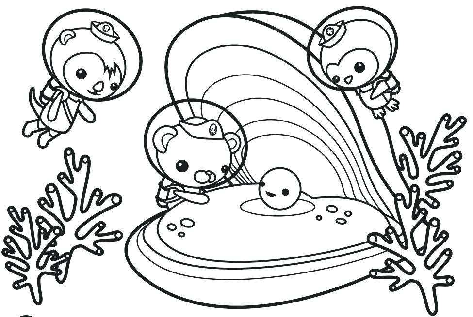 975x655 Octonauts Coloring Pictures The Characters Coloring Page Octonauts