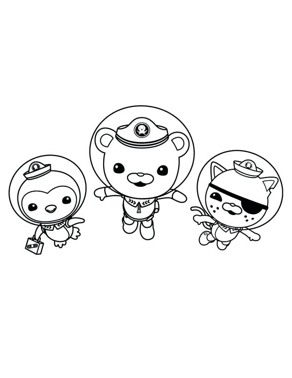 600x775 Octonauts Printable Coloring Pages Awesome Coloring Pages Print