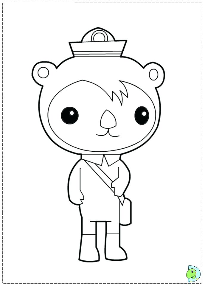 688x960 Printable Octonauts Coloring Pages For Kids Free Free Coloring