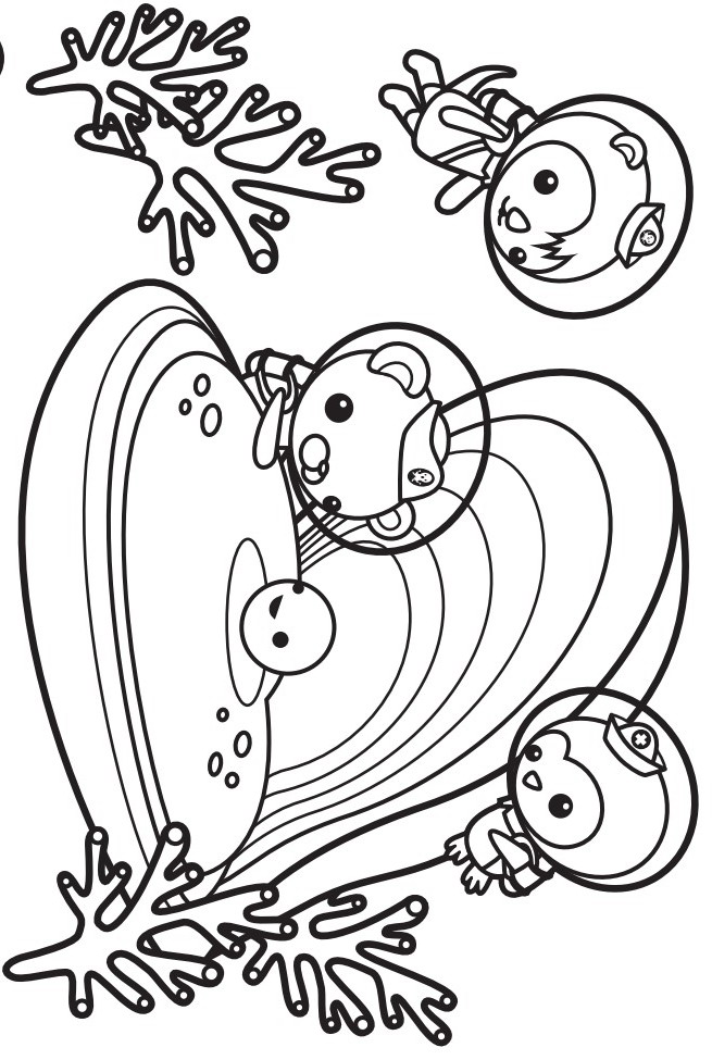 655x975 The Octonauts Coloring Pages