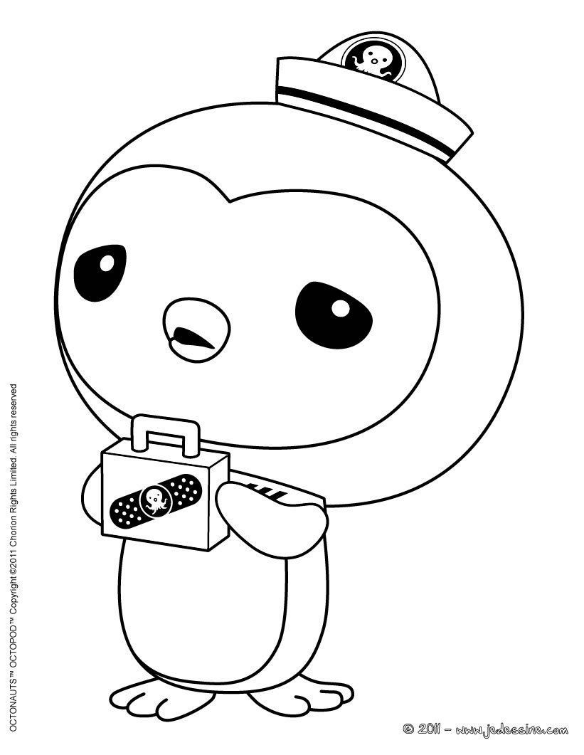 821x1061 Coloring Pages To Print Octonauts Coloriage Octonauts Medic Peso