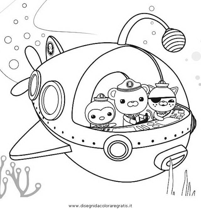 640x670 Coloring Pages To Print Octonauts Race Car Coloring Pages
