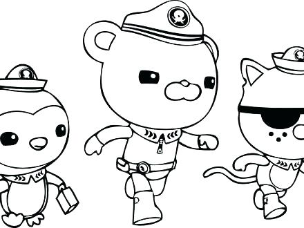 440x330 Coloring Pages Octonauts Awesome Coloring Pages Print Get This