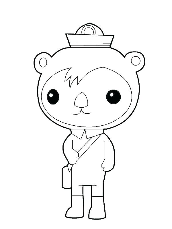 600x800 Coloring Pages Octonauts Coloring Pages Full Size Of Coloring