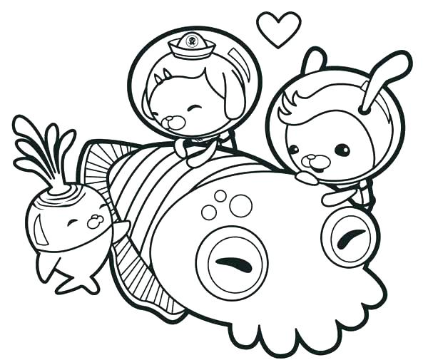 600x505 Coloring Pages Octonauts Coloring Pages Printable The Meet Giant