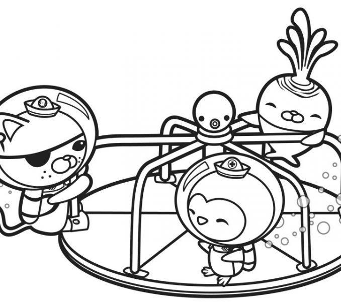678x600 Coloring Pages Octonauts Printable Octonauts Coloring Pages