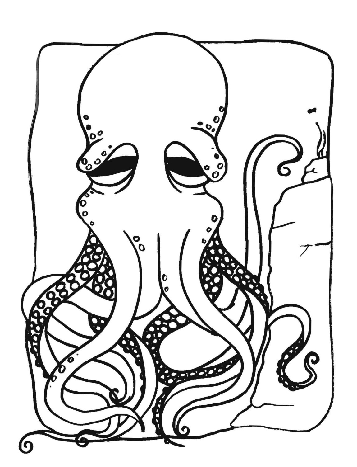 1149x1500 Free Printable Octopus Coloring Pages For Kids