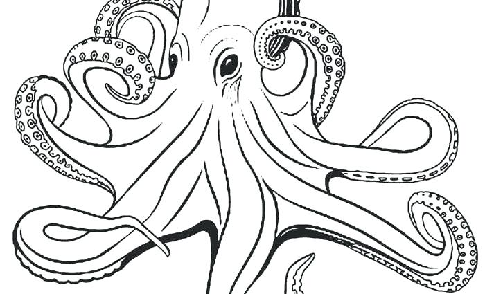 Octopus Coloring Pages For Kids at GetDrawings | Free download
