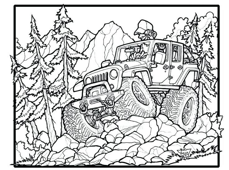 736x545 Jeep Coloring Page Jeep Coloring Pages Best Images About Jeep