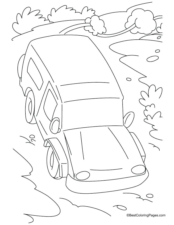 738x954 Jeep Coloring Pages Road Coloring Page Slope Road Coloring Page