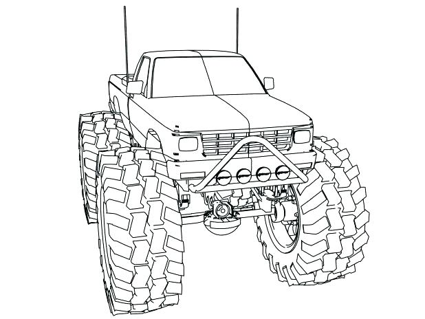 618x464 Monster Truck Colouring Pictures To Print Printable Coloring