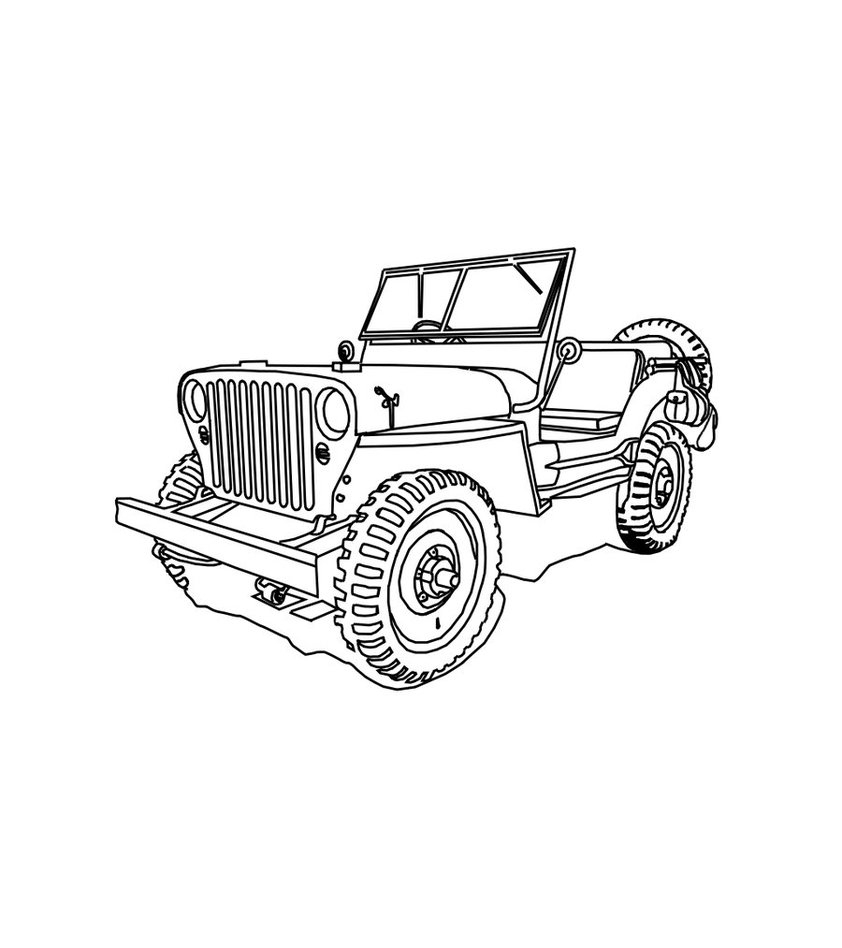 842x948 New Off Road Vehicle Coloring Pages Collection Printable