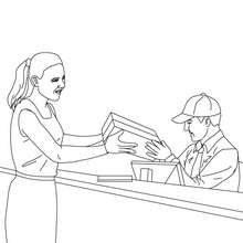 220x220 Postman Coloring Pages