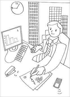 248x340 People Coloring Pages